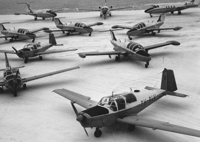 RLS Vliegtuigtypes Eind Jaren 60